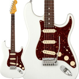 Fender American Ultra Stratocaster (Arctic Pearl/Rosewood) [Made In USA] 【ikbp5】