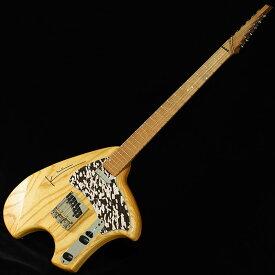 "Steve Klein S Tele Swamp Ash Body (NAT w/Black Perl/Gold Lines PG) 【伝説的ギターデザイナー""スティーブ・クライン""が手がけた1本!】"