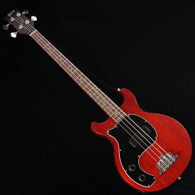 "Gibson Les Paul Junior Tribute DC Bass Lefty (Worn Cherry) [Left Hand Model] 【今ならギブソン純正アクセサリーパックに加えて""ピックケース""をプレゼント!】 【ikbp5】"