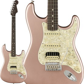 "Fender Limited Edition American Professional Stratocaster HSS ""Solid Rosewood Neck"" (Rose Gold) [Made In USA] 【ikbp5】"
