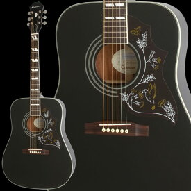 Epiphone by Gibson Limited Edition Hummingbird PRO (Ebony) 【数量限定エピフォン・アクセサリーパック・プレゼント】