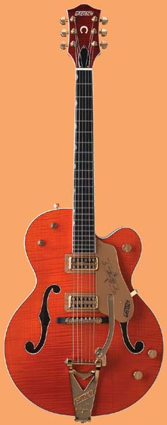 GRETSCH G6120TM Chet Atkins Hollow Body Tiger Maple