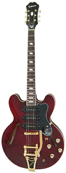 Epiphone by Gibson SPECIAL RUN COLLECTION Riviera Custom P93 (Wine Red) 【当店人気商品】 【数量限定エピフォン・アクセサリーパック・プレゼント】