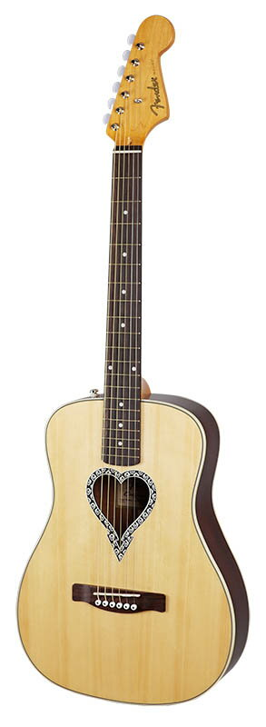 "Fender Acoustics Alkaline Trio Malibu Spruce Top ""IKEBE 40th Anniversary Model"" 【ikbp5】"