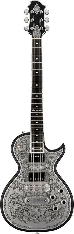 ZEMAITIS Custom Shop Metal Front Series CS24MF FR4C BLACK 【数量限定!ゼマイティス×イケベ特製インテリアクロック・プレゼント!】