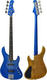Bacchus GLOBAL Series IKEBE ORIGINAL HWL4-CUSTOM24/MG [4-strings Bass] (STB/シースルーブルー)