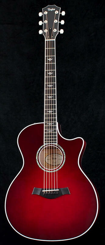 Taylor Ikebe Original Order GAce-Maple AA Flame (Ruby Red Burst) 【PGC-ACOUSTIC】
