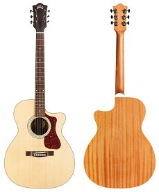 """GUILD Westerly Collection OM-240CE [Cutaway Type] 【数量限定""""GUILDグッズ(コースター、ピックケース、ステッカー)""""プレゼント!】"""