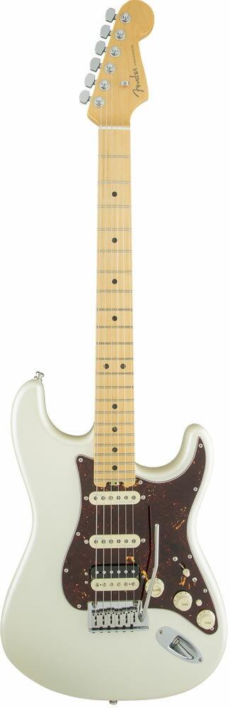 "Fender American Elite Stratocaster HSS Shawbucker (Olympic Pearl/Maple) [Made In USA] 【大幅プライスダウン!】 【フェンダー""Fシリーズ""ギグバッグプレゼント!】 【ポイント5倍】"