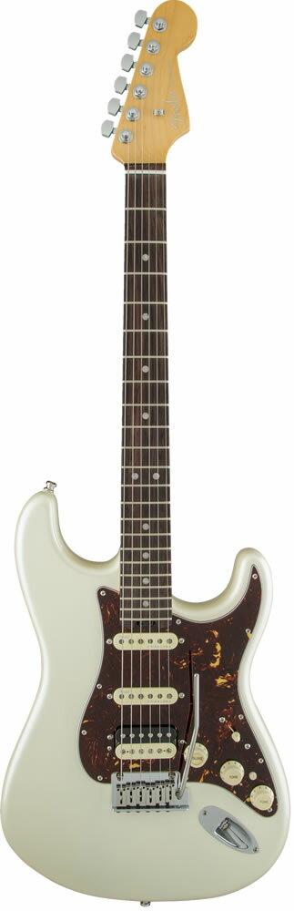 "Fender American Elite Stratocaster HSS Shawbucker (Olympic Pearl/Rosewood) [Made In USA] 【大幅プライスダウン!】 【フェンダー""Fシリーズ""ギグバッグプレゼント!】 【ポイント5倍】"
