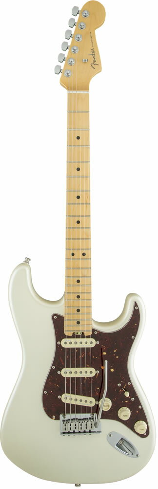 "Fender American Elite Stratocaster (Olympic Pearl/Maple) [Made In USA] 【大幅プライスダウン!】 【フェンダー""Fシリーズ""ギグバッグプレゼント!】 【ポイント5倍】"