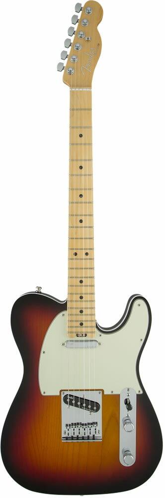 "Fender American Elite Telecaster (3-Color Sunburst/Maple) [Made In USA] 【大幅プライスダウン!】 【フェンダー""Fシリーズ""ギグバッグプレゼント!】 【ポイント5倍】"