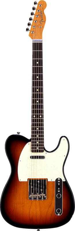 Fender Japan Exclusive Series Classic 60s Tele US Pickups (3-Color Sunburst) 【数量限定!ギターアンプ VOX Pathfinder10プレゼント!!】 【生産完了!ラストチャンス!】 【ポイント5倍】