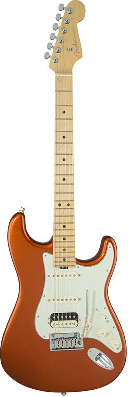Fender American Elite Stratocaster HSS Shawbucker (Autumn Blaze Metallic/Maple) [Made In USA] 【大幅プライスダウン!】 【ポイント5倍】