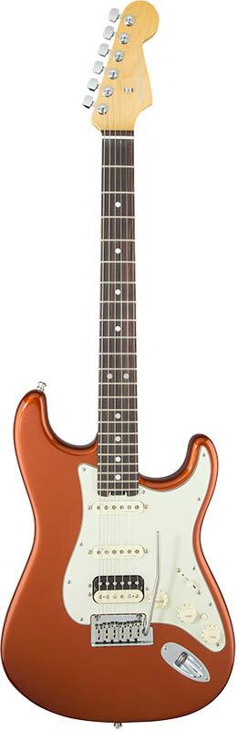Fender American Elite Stratocaster HSS Shawbucker (Autumn Blaze Metallic/Rosewood) [Made In USA] 【大幅プライスダウン!】 【ポイント5倍】