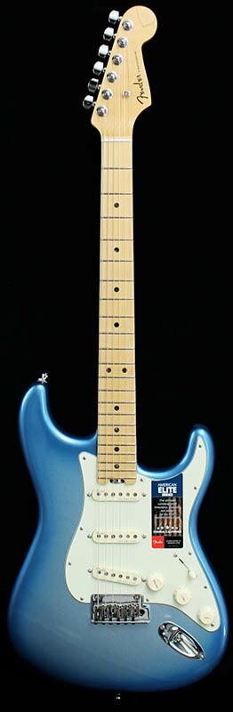 "Fender American Elite Stratocaster (Sky Burst Metallic/Maple) [Made In USA] 【大幅プライスダウン!】 【フェンダー""Fシリーズ""ギグバッグプレゼント!】 【ポイント5倍】"