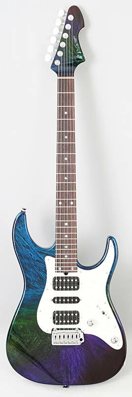 T's Guitars DST-Classic24 w/Buzz Feiten Tuning System (Flourite Flare Blue) #031289 【PGC-OTHERS】