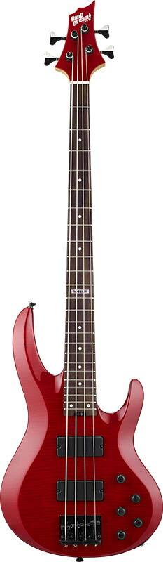 ESP×バンドリ! ガールズバンドパーティ! コラボレーション BanG Dream! Roselia 今井リサ Model BTL LISA (See Thru Red) 【即納可能】