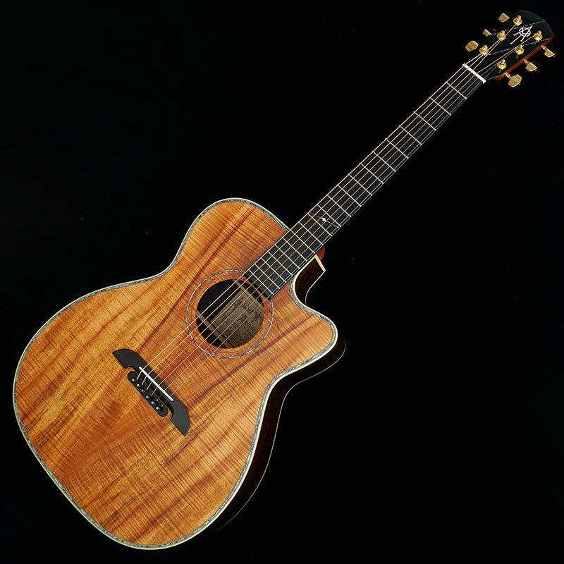 """K.Yairi IKEBE Original Order ALVAREZ WY1 Custom Select Exotic Wood """"Flame KOA"""" 【今なら皮製ストラップ・ピックプレゼント】"""