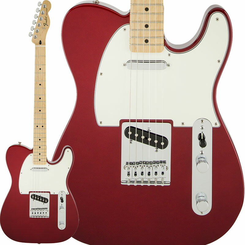 Fender Standard Telecaster (Candy Apple Red/Maple) [Made In Mexico] 【特価】