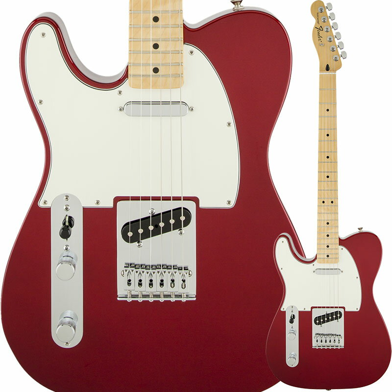 Fender Standard Telecaster Left-Handed (Candy Apple Red/Maple) [Made In Mexico] 【特価】
