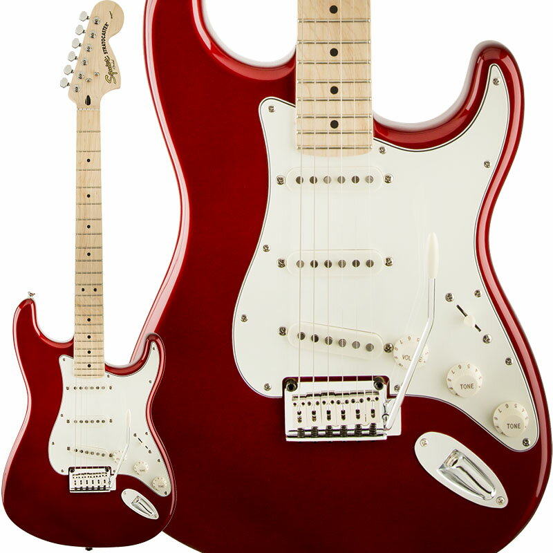 Squier by Fender Standard Stratocaster (Candy Apple Red/Maple) 【期間限定プライス】