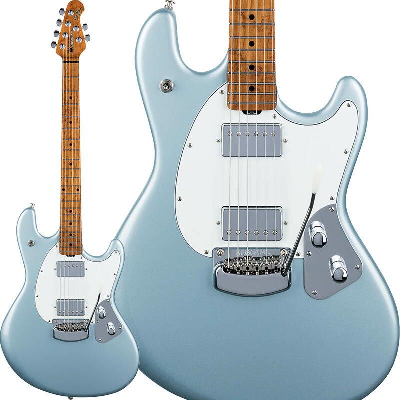 MUSICMAN StingRay Guitar RS (Firemist Silver/Roasted Figured Maple) 【特価】