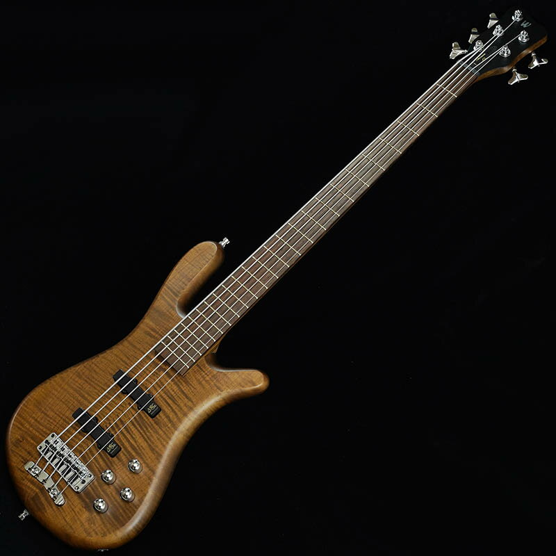 "Warwick German Team Built Streamer LX 5st ""Flame Maple Top"" (Antique Tobacco Transparent Satin)"