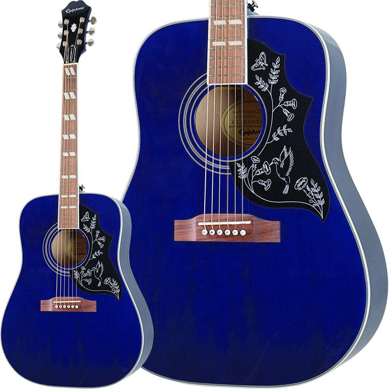 Epiphone by Gibson Limited Edition Hummingbird PRO (BB) 【数量限定エピフォン・アクセサリーパック・プレゼント】
