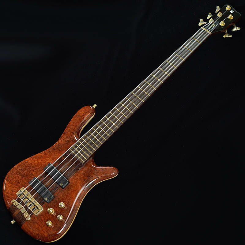 "Warwick Custom Shop Streamer Stage I 5st ""Red Wood Burl Top"" 【特価】"