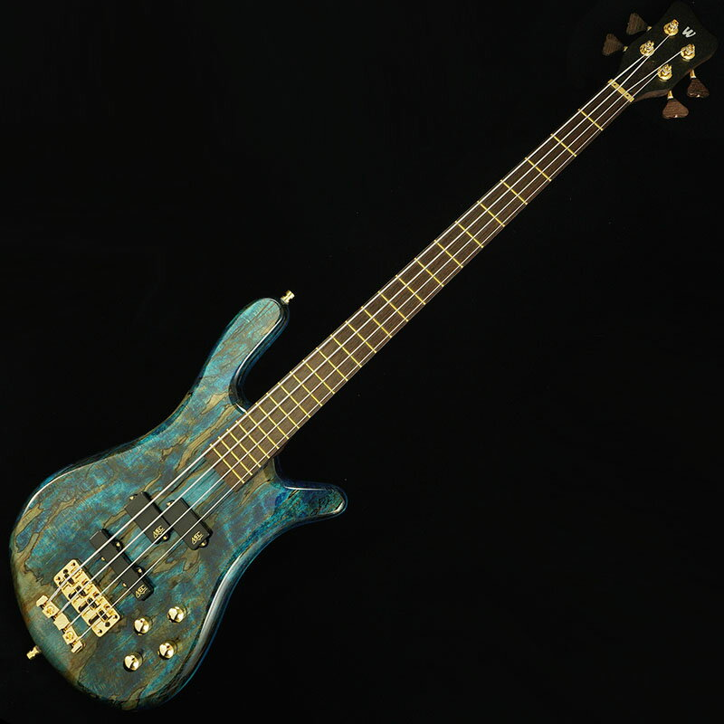 "Warwick Custom Shop Streamer LX4 ""Hand-Selected 1"" Spalted Maple Top"" (Bleached Ocean Blue Transparent High Polish Finish) [#J163053-18] 【Factory Order Model 豪華特典!】"