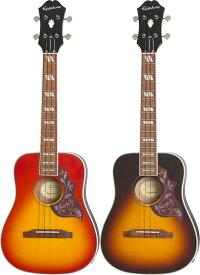 Epiphone by Gibson Hummingbird Acoustic/Electric Tenor Ukulele