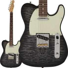 Fender FSR Made in Japan Hybrid 60s Telecaster Quilt Top (Transparent Black) [Made in Japan] 【ikbp5】