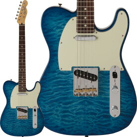 Fender FSR Made in Japan Hybrid 60s Telecaster Quilt Top (Transparent Blue) [Made in Japan] 【ikbp5】 【FENDER THE SPRING-SUMMER 2019 CAMPAIGN】