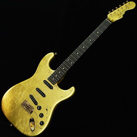 momose MC-Gold Leaf/E-SP'19 [石川県金沢市の金箔職人集団「箔一」とコラボレーションしたエレキギター] 【2019ディバイザー商談会選定品】 【ikbp5】