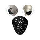 シェルマスク サバゲーマスク フェイスガード スポーツ ロードバイク シリコンマスク アンダーマスク シリコンマスク…