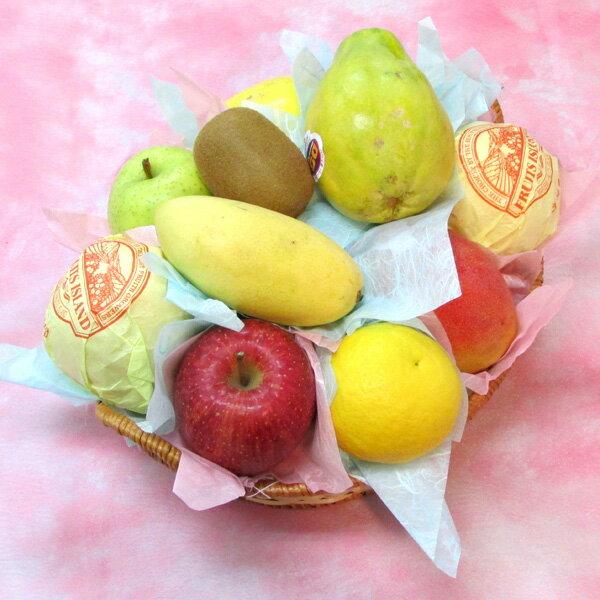 フルーツ篭盛合せ 「慶」 < 送料・消費税込 ! 各種ギフト対応 可!ご結婚 ・ ご出産等 の お祝い事 や お見舞いに>