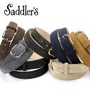 サドラーズ Saddler's / カーフスエードベルト『EG02』(7 colors)ベルト レザー 革 イタリア製 ドレス ビジネス 【ラッピング対応】あす...