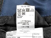 バルバBARBA/【国内正規品】CANONICOウールフランネルバンカーストライプ3B1プリーツスーツ「LAR」