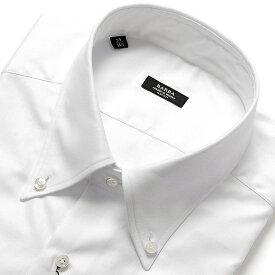 【ポイント10倍】バルバ BARBA / 【国内正規品】 19-20AW!コットンピンポイントオックスフォードボタンダウンカラーシャツ「BRK」(ホワイト)/ メンズ イタリア ナポリ ドレスシャツ ワイシャツ オールシーズン 無地 ビジネス