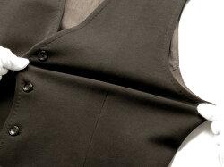 チルコロ1901CIRCOLO1901/【国内正規品】製品染めコットンストレッチ裏起毛ジャージーシングルジレ「CN2332」