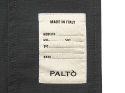 【国内正規品】PALTO(パルト)ポリエステルコットンタッサーフーデッドステンカラーコート『MARCELLO』(NERO/ブラック)