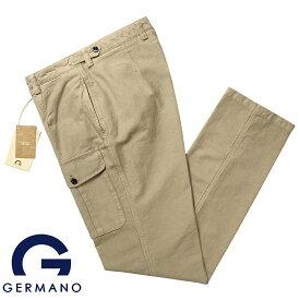【SALE】ジェルマーノ GERMANO / 製品染めコットンジャカード1980'sベルギー軍カーゴパンツ「5BXG-9906(CHOICE)」(ベージュ)【ハンガー便選択OK】/ 3シーズン メンズ イタリア ミリタリーパンツ ボトムス