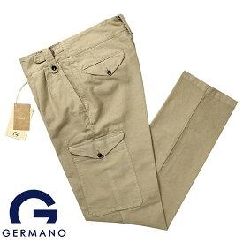 【SALE】ジェルマーノ GERMANO / 製品染めコットンジャカード1960'sオーストラリア軍グルカパンツ「5BVG-9906(CHOICE)」(ベージュ)【ハンガー便選択OK】/ 3シーズン メンズ イタリア ミリタリーパンツ カーゴパンツ
