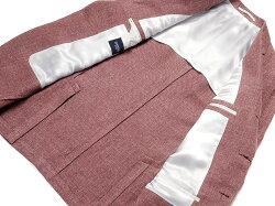 バルバBARBA/【国内正規品】CANONICOリネンシルクコットンサマーツイード3Bジャケット「REN」