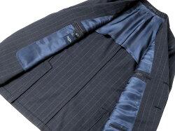 バルバBARBA/【国内正規品】CANONICOSuper120'sウールトロピカルストライプ3Bスーツ「LAR」