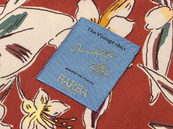 バルバダンディライフBARBADANDYLIFE/【国内正規品】レーヨンポプリンボタニカルプリント半袖オープンカラーシャツ「PBOVER」