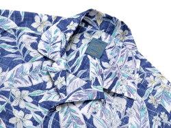 バルバダンディライフBARBADANDYLIFE/【国内正規品】コットンローンボタニカルプリント半袖オープンカラーシャツ「PBOVER」