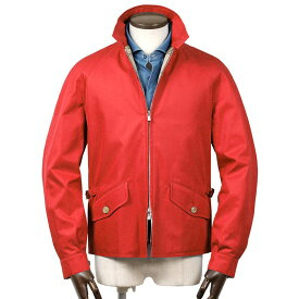 グレンフェル GRENFELL / 【国内正規品】 / グレンフェルクロスハリントンジャケット「GOLFER」(RED/レッド)/ メンズ イギリス 英国製 ブルゾン ジャンパー スウィングトップ ゴルファー