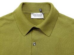 ジョンスメドレーJOHNSMEDLEYシーアイランドコットン30ゲージ半袖ニットポロシャツ「ADRIAN」
